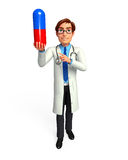 Young Doctor with medicine Royalty Free Stock Photography