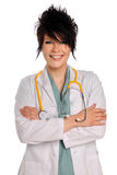 Young Doctor or Nurse Smiling Stock Photos
