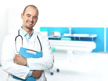 Young doctor portrait Stock Image