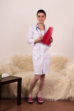 Young doctor portrait Royalty Free Stock Images