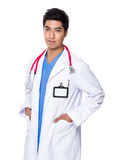 Young Doctor portrait Stock Images