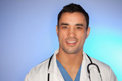 Young doctor posing Stock Photo