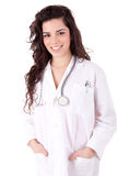 Young doctor posing Royalty Free Stock Photo