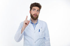 Young doctor research for a solutions Stock Photos