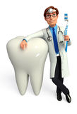 Young Doctor with teeth Stock Images