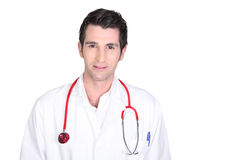A young doctor Stock Images