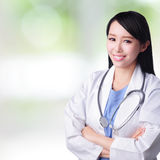 Young doctor woman Stock Image