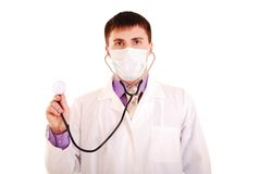 Young doctor at work. Stock Photography