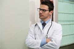 Young Doctor At Work Royalty Free Stock Photos