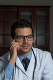 Young Doctor At Work Royalty Free Stock Images