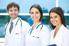Young doctors Royalty Free Stock Photo