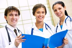 Young doctors Stock Images