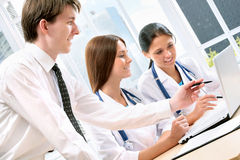 Young doctors Stock Photography