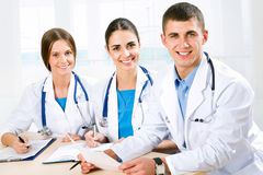 Young doctors Stock Photos