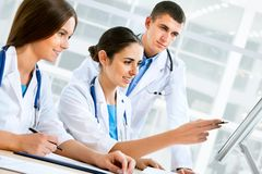 Young doctors Royalty Free Stock Images