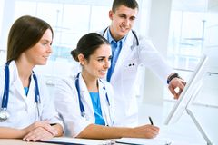 Young doctors Royalty Free Stock Photos