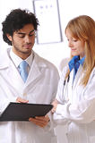 Young doctors Royalty Free Stock Photography