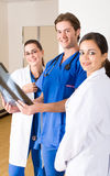 Young doctors stock image