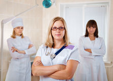 Young doctors team Royalty Free Stock Photography