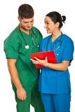 Young doctors team Royalty Free Stock Photos