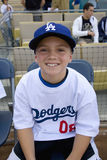 Young Dodger fan Stock Images