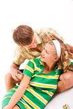Young domestic pair Stock Images