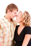 Young domestic pair Royalty Free Stock Photo