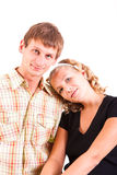 Young domestic pair Royalty Free Stock Images