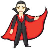 Young Dracula vector illustration