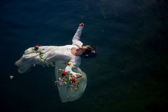Young drown woman Royalty Free Stock Image