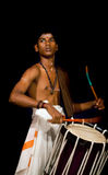 Young drummer stock photos