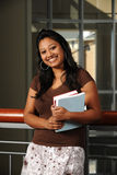 Young Eastern Student holding Books Royalty Free Stock Photography