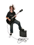 Young Electric Guitar Player Royalty Free Stock Image
