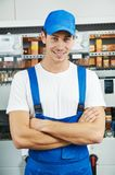 Young electrician engineer worker Royalty Free Stock Photography