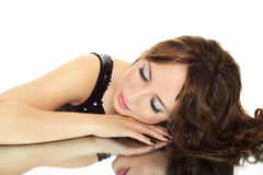 Young elegance woman Royalty Free Stock Photo