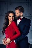 Young elegant couple Stock Image