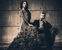 Young elegant couple Royalty Free Stock Image