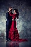 Young elegant couple Royalty Free Stock Photo