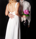 Young elegant couples Royalty Free Stock Photography