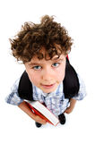 Young elementary student Royalty Free Stock Images