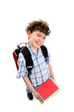 Young elementary student Royalty Free Stock Image