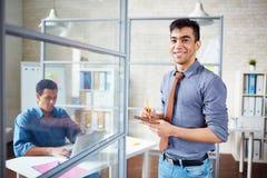 Young employee Stock Photos