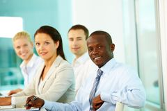 Young employees Royalty Free Stock Photography