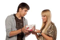 Young enamoured couple Stock Photo