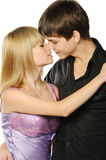 Young enamoured pair Stock Photography