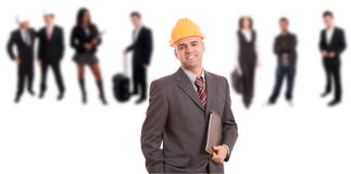 Young engineer Royalty Free Stock Photos