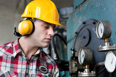 Young engineer Royalty Free Stock Photography