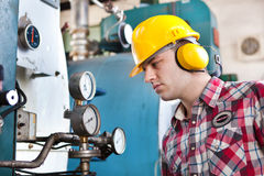 Young engineer Stock Image