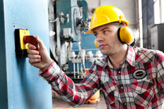 Young engineer Royalty Free Stock Image