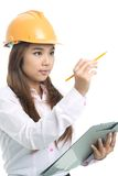Young engineer Royalty Free Stock Photo